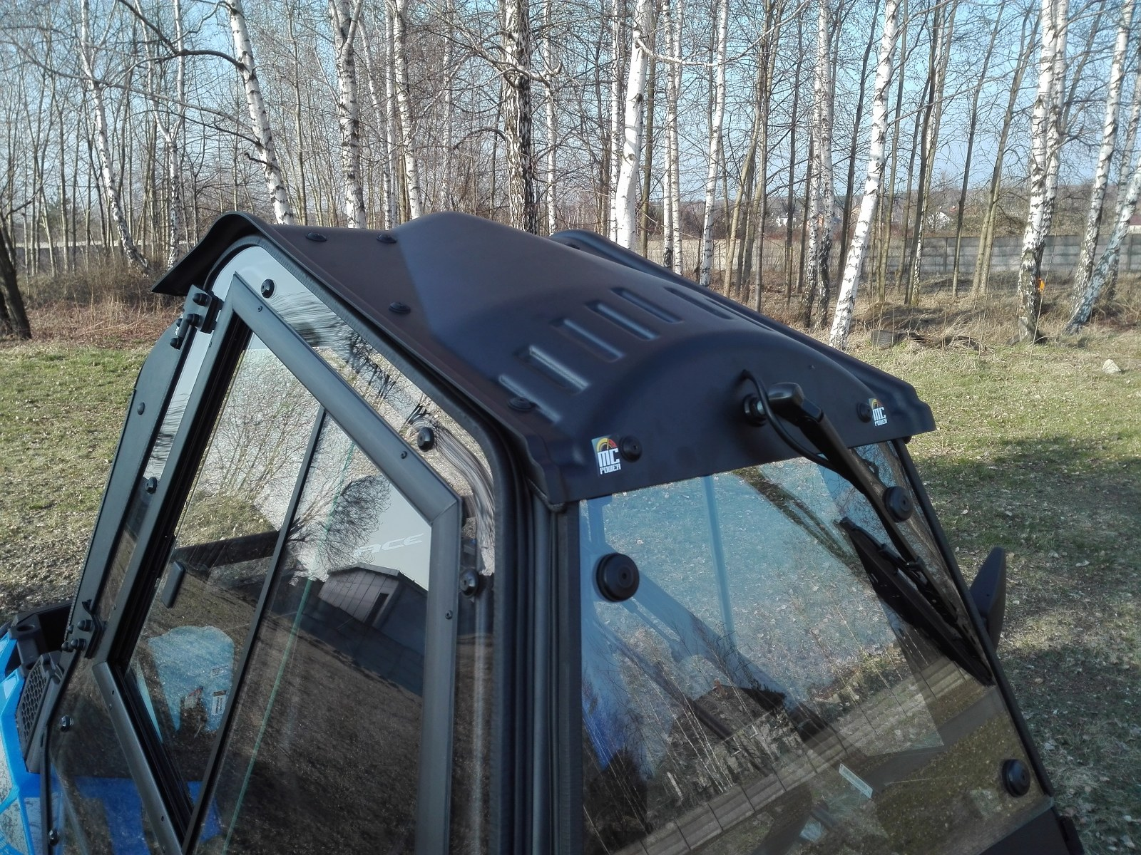 Glass Windshield for Polaris ACE 570 + Wiper + Washer accessory