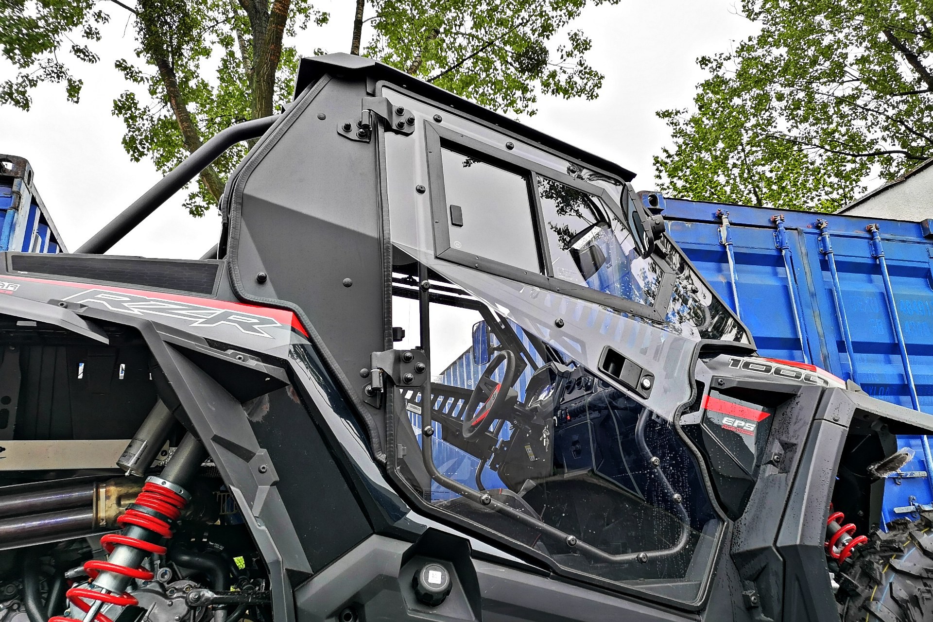 Doors (left + right) for Polaris RZR 1000 / Turbo 2019-2021